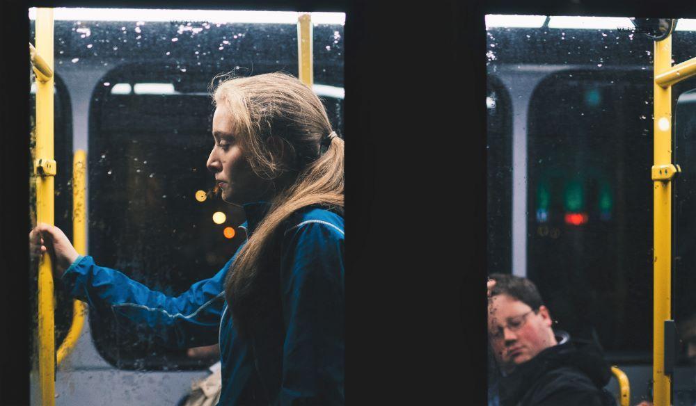 Vida cotidiana en el transporte público