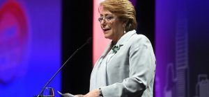"""Michelle Bachelet: """"Hay mucho sexismo"""""""