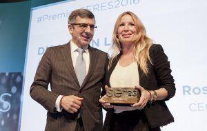 Accenture, Repsol, Prisa y DisJob, Premios SERES 2016
