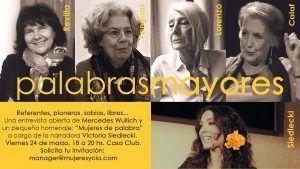 'Palabras mayores', celebra el talento y la experiencia de 4 pioneras