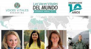 Jornada Anual de Voces Vitales Argentina:Las Voces Vitales del Mundo