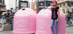 #ReciclaVidrioPorEllas, la campaña de Ecovidrio por el Día Mundial del Cáncer de Mama
