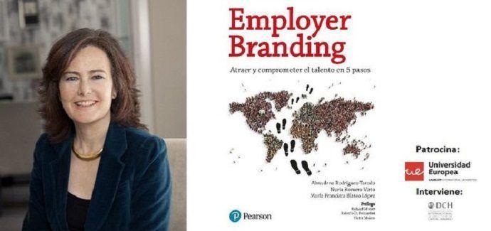 Almudena Rodríguez presenta el libro Employer Branding