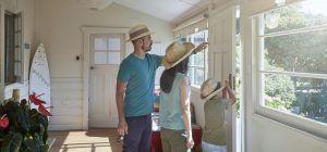 ¿Familia de vacaciones? Evita accidentes domésticos