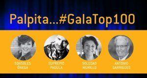 ¿Quieres asistir a la #GalaTOP100? Conoce detalles del acto…