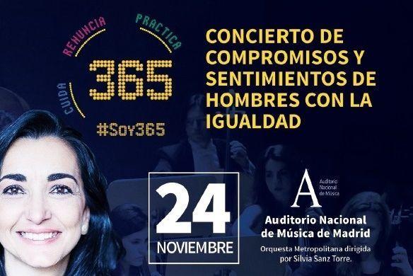 #Soy365 compromete a 800 hombres con la Igualdad