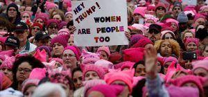 EEUU: Las mujeres vuelven a marchar contra Trump