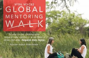 Vital Voices ´19: ¿Te has sumado al #MentoringWalk Madrid?