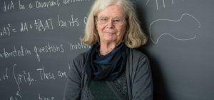 Karen Uhlenbeck, primera mujer que gana el Premio Abel
