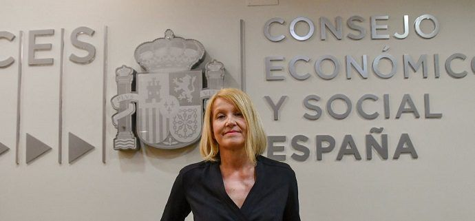 Mari Carmen Barrera, presidenta en funciones del Consejo Económico y Social