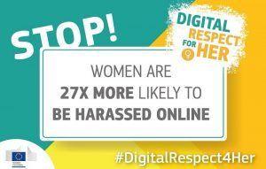 La Comisión Europea lanza #DigitalRespect4Her