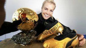 Ada Hegerberg no irá al Mundial por la igualdad