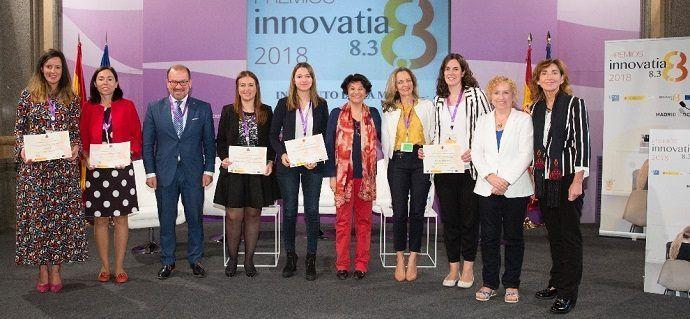 INMUJER convoca sus II premios INNOVATIA8.3