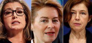 Seis mujeres lideran los ministerios de defensa más importantes de Europa