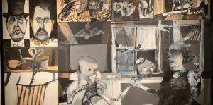 Dos artistas argentinosengalananBuenos Aires con talento y creatividad.