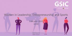Mujer, deporte y emprendimiento a debate en el GSIC by Microsoft
