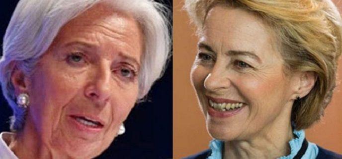 Christine Lagarde y Ursula von der Leyen, a la cabeza de las instituciones de la UE