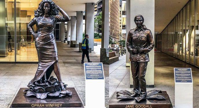 Nuevas estatuas de mujeres en Nueva York