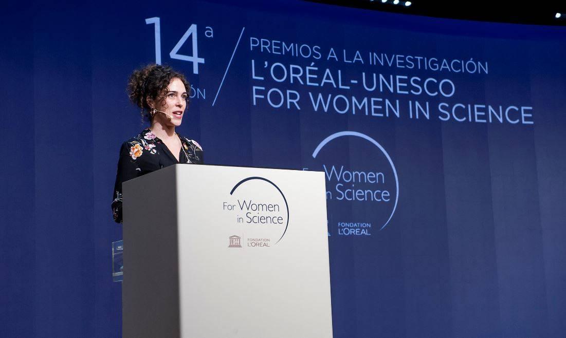 Cristina Romera es la séptima española que recibe una de las becas 'International Rising Talent' en los 22 años de historia del programa L'Oréal-UNESCO For Women in Science.